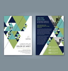 Cover annual report 1166 vector