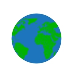 Earth on a white background vector