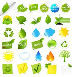 Eco Symbols Set vector image