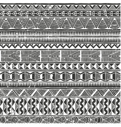 Ethnic seamless pattern abstract vector
