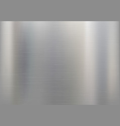 Metal or aluminum textured background vector
