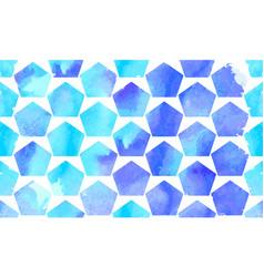 morrocan ornament blue colors vector image