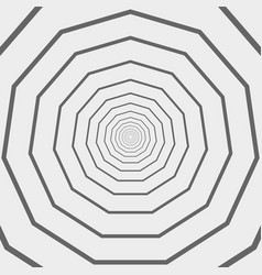 pattern of modern amaze gray and white lines vector image