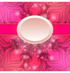 Pink vintage abstract background vector