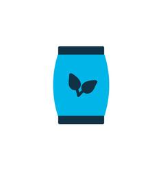 Plant seed icon colored symbol premium quality vector