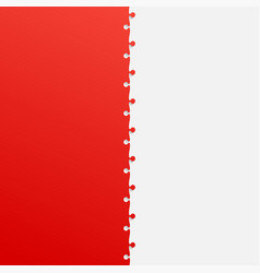 two grey and red piece puzzle infographic jigsaw vector image