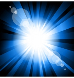 ray of light vector image