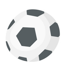 soccer ball cartoon vector image
