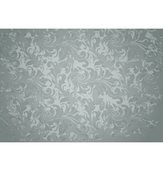 Grey grunge vintage pattern vector