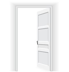 open door - vector image