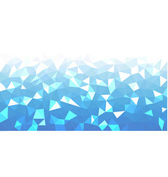 Blue geometric texture abstract background vector image