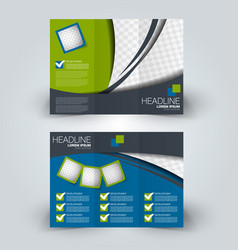 Brochure design template vector