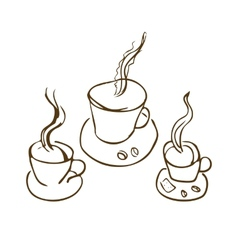 Cooffee cup vector