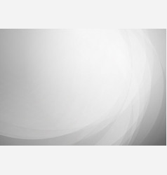 curved abstract gray background vector image