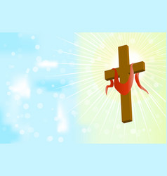 Good friday and easter day vector