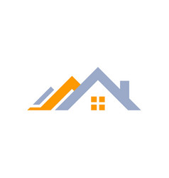 House home logo real estate symbol icon vector