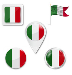 Italy country flag nation country vector