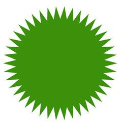 starburst sunburst shape flat price tag price vector image