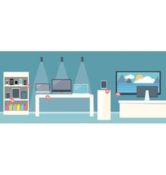 Sale of Smartphone Design Flat Store vector image