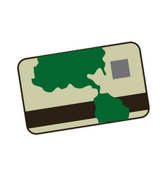 cartoon credit card banking finance image vector image