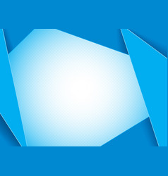Blue abstract graphic background vector