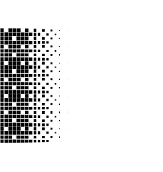 classic pixel dither pattern gradient retro design vector image