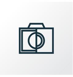 Colorless icon line symbol premium quality vector