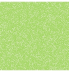 dots on green background seamless pattern vector image