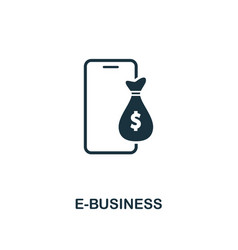 e-business icon creative element design from vector image