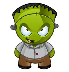 Frankensteins Monster Naughty Grin vector