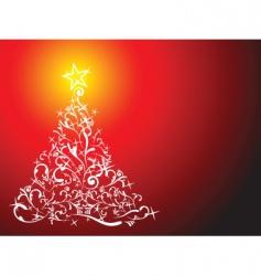 glittering lights vector image vector image