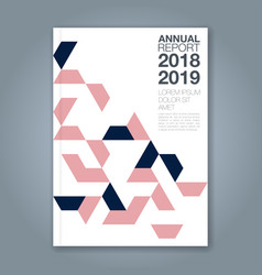 Cover annual report 1181 vector