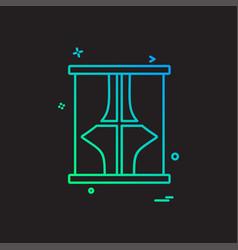 furniture icon design vector image