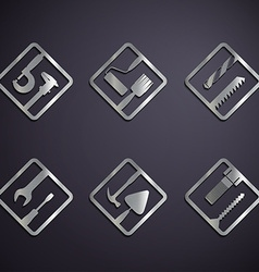 industrial tools Stock vector image