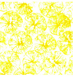 lemon stamp seamless background lemon juice vector image
