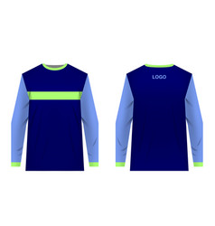 mtb jersey templates vector image