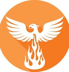 Phoenix Icon vector image