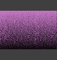 The banner purple sequins mosaic sequins back vector