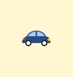 Toy car icon flat element of vector