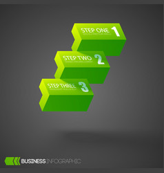 web infographic design concept vector image