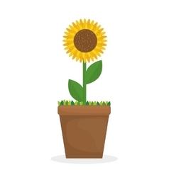 Gardening icon design vector image vector image