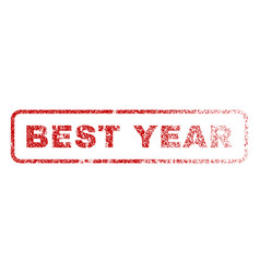 best year rubber stamp vector image