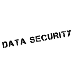 Data Security rubber stamp vector