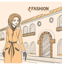 fashion urban style vector image