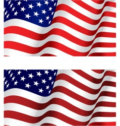 Flag usa vector