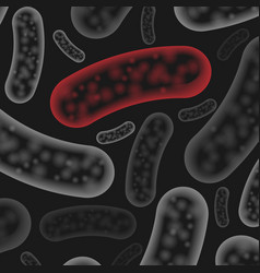 Micro bacterium wallpaper vector
