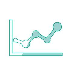 statistics diagram pictogram vector image