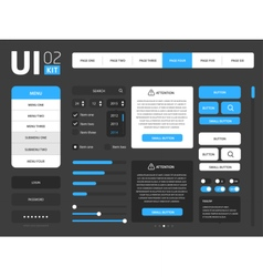 UI template vector image