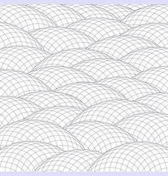 Abstract hillocks vector
