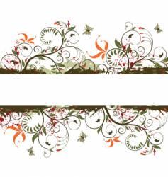 Background-flower vector